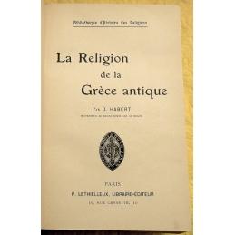 La religion de la Grèce antique