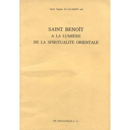 Saint Benoît à la lumière de la spiritualité orientale