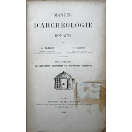 Manuel d'archéologie romaine