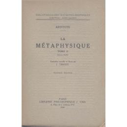 Métaphysique, tome II (Livres H-N)