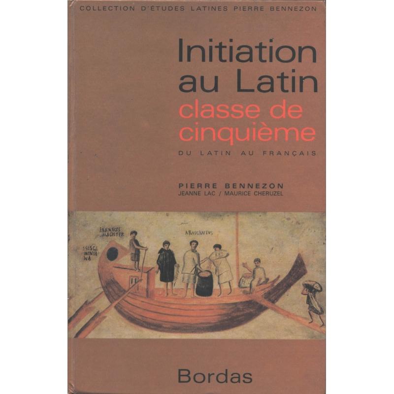 Initiation au latin. Classe de cinquième