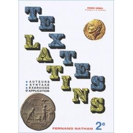 Textes latin 2e. Auteurs. Syntaxe. Exercices d'application