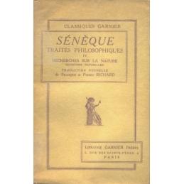 Traités philosophiques, tomes I à IV