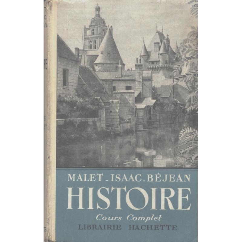 Histoire de l'Antiquité à 1939. Cours complet
