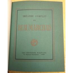 Théâtre complet de Beaumarchais