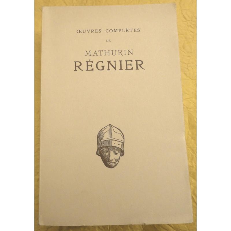 Œuvres complètes de Mathurin Régnier
