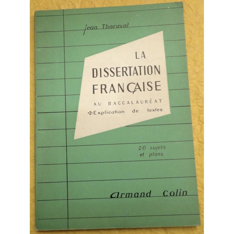 La dissertation française au baccalauréat