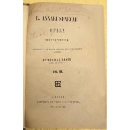 L. Annaei Senecae Opera quae supersunt. Vol III