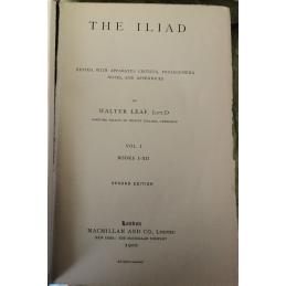 The Iliad (2 volumes)