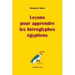 """""""Leçons pour apprendre les hiéroglyphes égyptiens"""