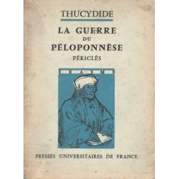 La Guerre du Péloponnèse : Périclès (II, I à 65)