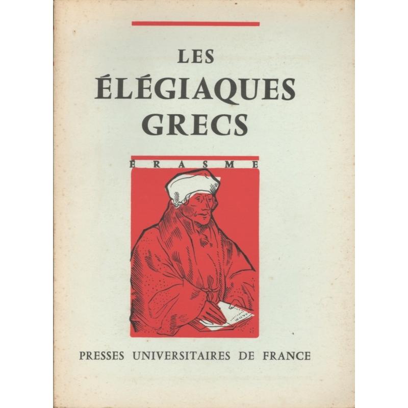 Les Elégiaques grecs