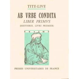 Ab urbe condita, liber primus (Histoires, livre premier)