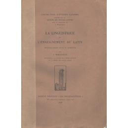 La Linguistique et l'enseignement du latin