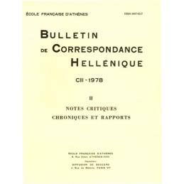 Bulletin de correspondance hellénique