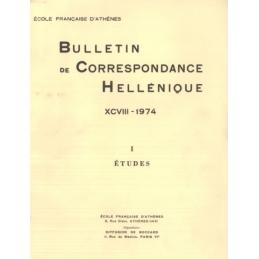 Bulletin de Correspondance Hellénique - XCVIII - 1974