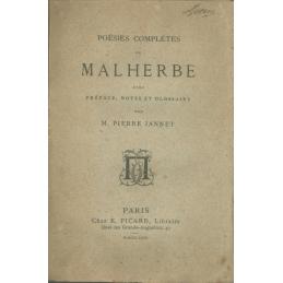 Poésies complètes de Malherbe