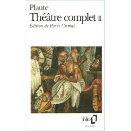 Théâtre complet II