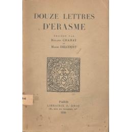 Douze lettres d'Erasme