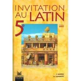 Invitation au latin 5e