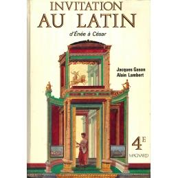 Invitation au latin d'Enée à César 4e et Grands commençants