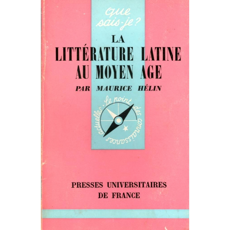 La littérature latine au Moyen Age