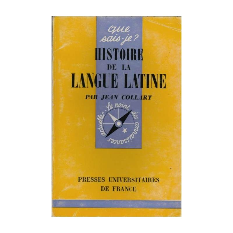 L'histoire de la langue latine