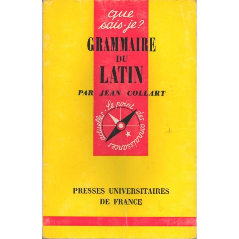 Grammaire du latin
