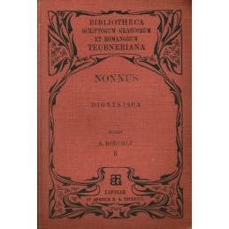 Nonni Panopolitani Dionysiacorum Libri XLVIII (2 volumes)