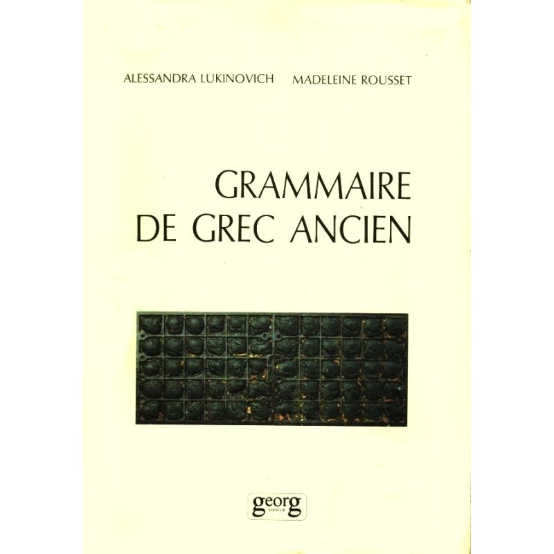 Grammaire de grec ancien