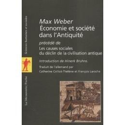 Economie et société dans l'antiquité précédé de Les causes sociales de la civilisation antique