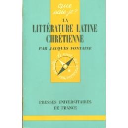 La littérature latine chrétienne