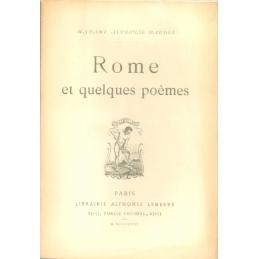 Rome et quelques poèmes