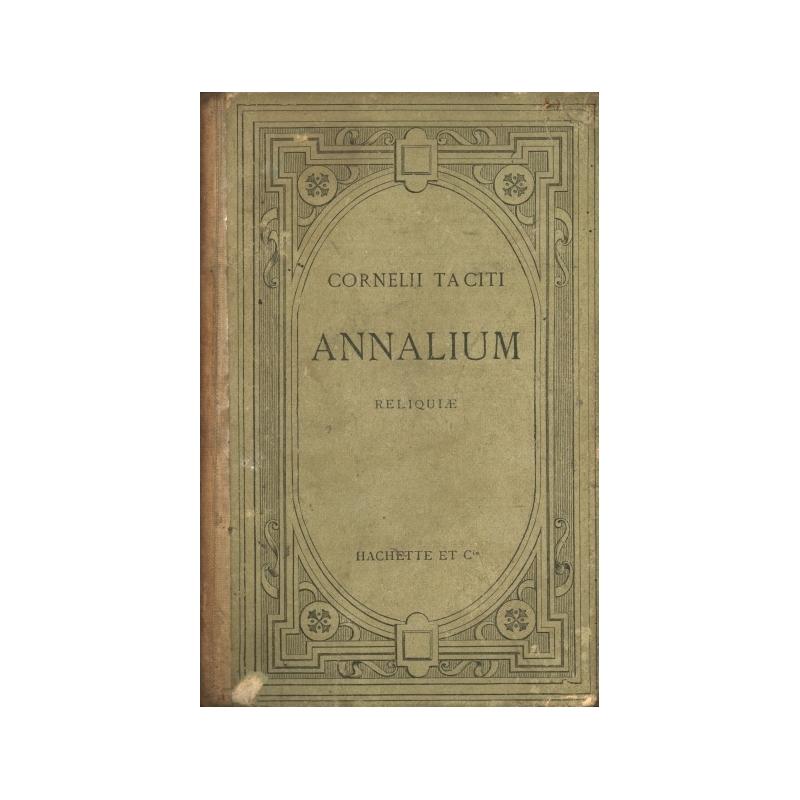 Cornelii Taciti Annalium reliquiae