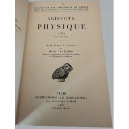 Physique (I-IV) - tome I