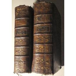 Dictionnaire historique portatif - tome I (A-K) et II (L-Z)