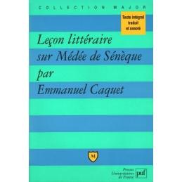 Leçon littéraire sur Médée de Sénèque