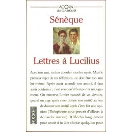 Lettres à Lucilius. Sur l'amitié, la mort et les livres
