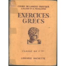 Exercices grecs, classe de troisième et traductions et corrigés