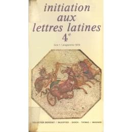 Initiation aux lettres latines 4e