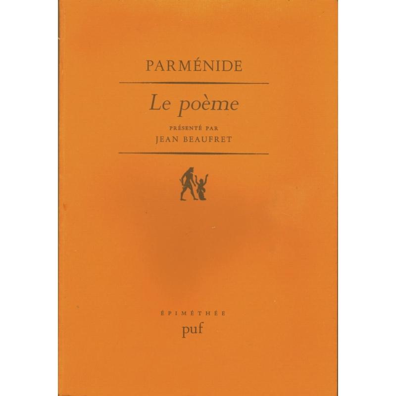 Le poème présenté par Jean Beaufret