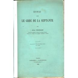 Essai sur le grec de la Septante