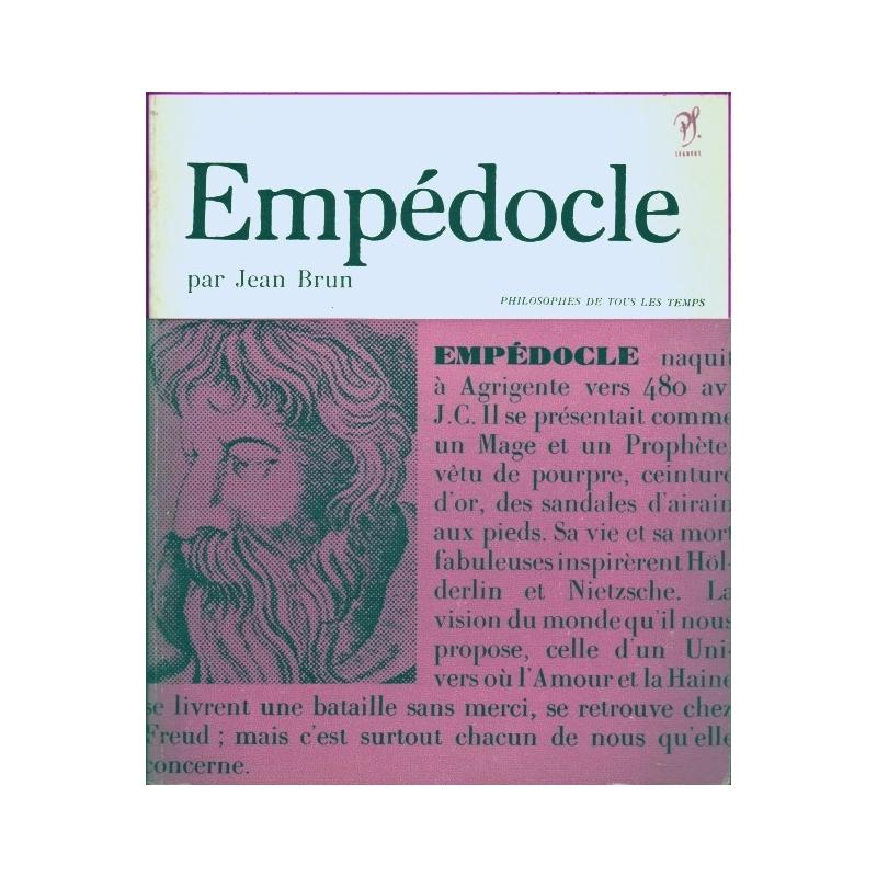 Empédocle ou le philosophe de l'Amour et de la Haine