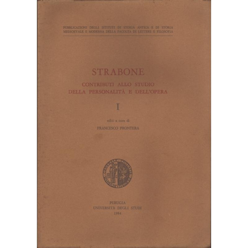 Strabone contributi allo studio della personalità et dell'opera. 1