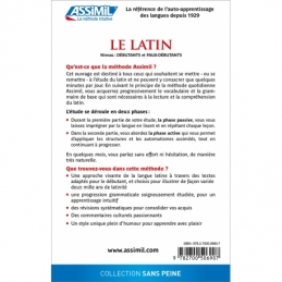Le latin (livre seul)