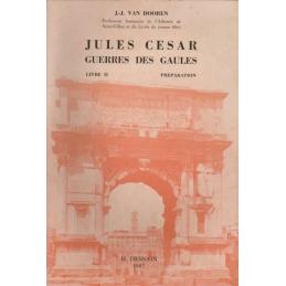 Jules César. La Guerre des Gaules, Livre II. Préparation