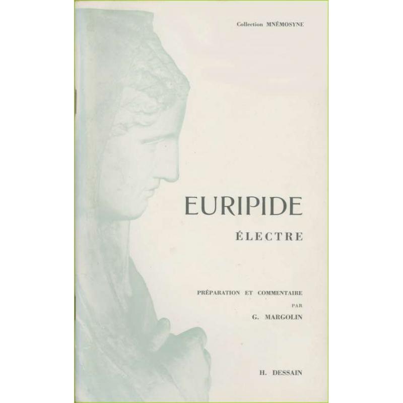 Electre. Préparation et commentaire par Georges Mergolin