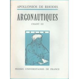 Argonautiques. Chant III