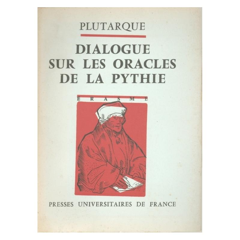 Dialogue sur les oracles de la Pythie