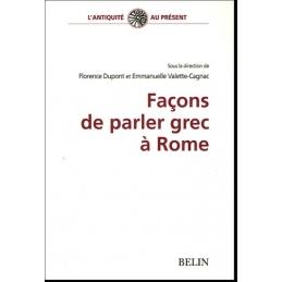 Façon de parler grec à Rome